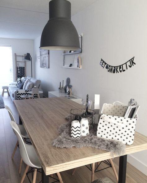 Eetkamer - Binnenkijken bij j_and_l_interior | Interiors, Living ...