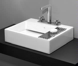 Deca UL 87 17 Concealed Waste Slab Basin Drain Assembly Included   No Hole  In)