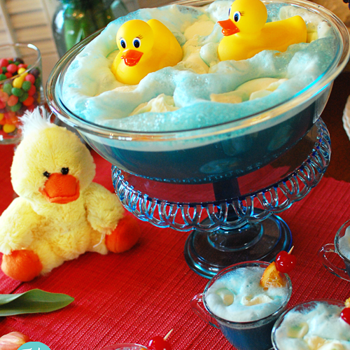 How cool is this Punch to make for a Baby Shower?