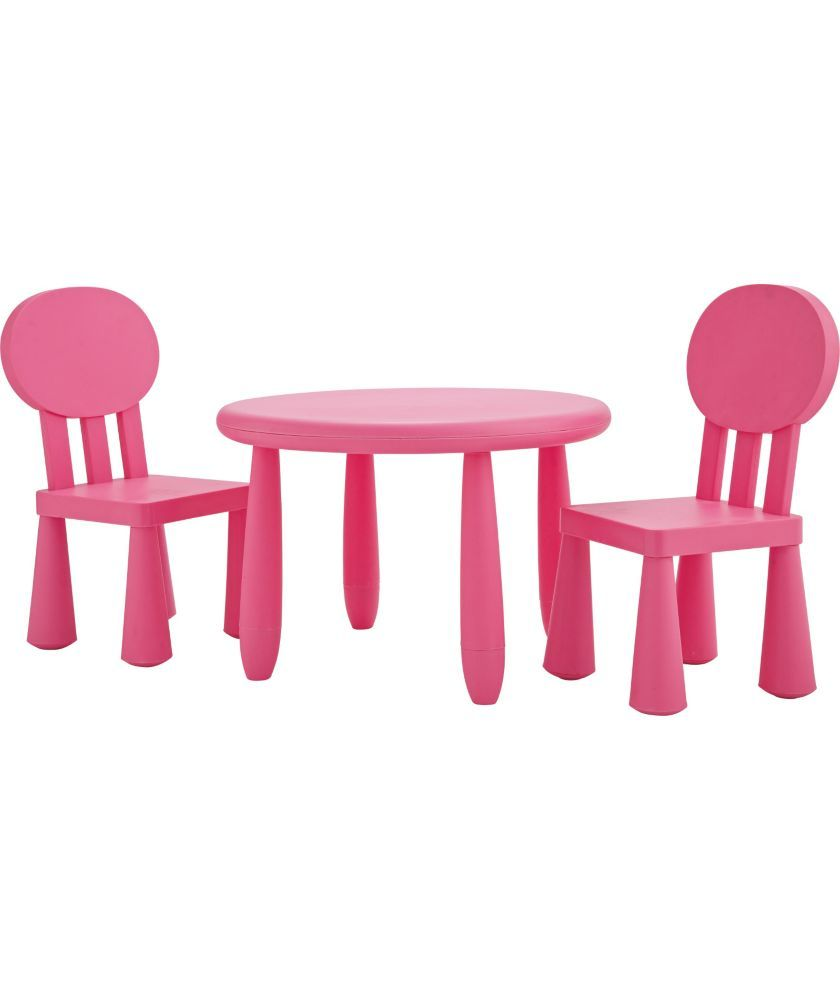 buy funky plastic chair and table pink at argos co uk your