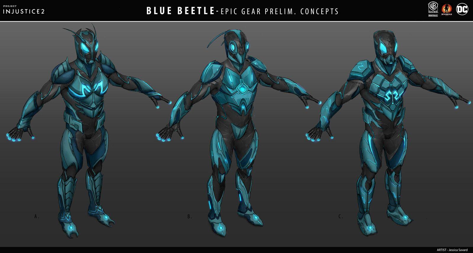 Blue Beetle Gear For Injustice 2 Jessica Savard On Artstation At Https Www Artstation Com Artwork E0zq4w Blue Beetle Design Comics Dc Comics Art
