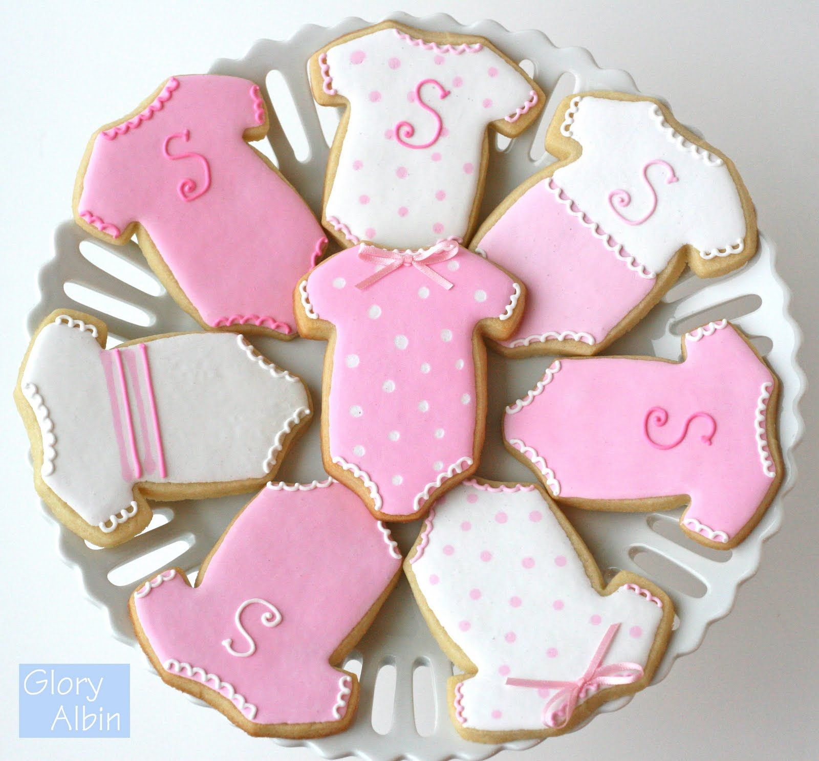 Decorating Sugar Cookies With Royal Icing Baby Shower