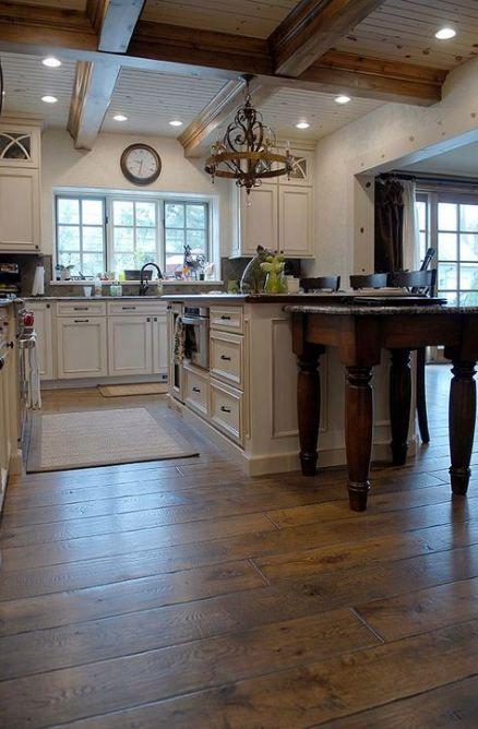 46+ Ideas For Kitchen Floor Oak Wide Plank   Hardwood ...