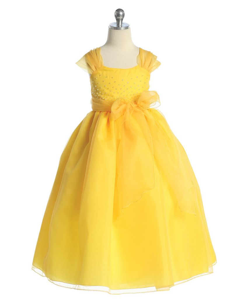 Yellow dress kids  One of our top seller ildhoodwayboutique  Top Styles For