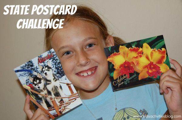 State Postcard Challenge