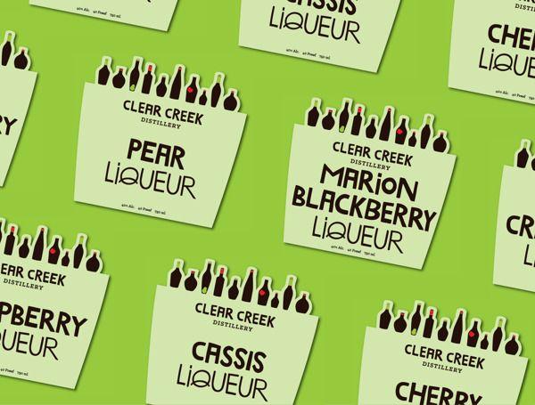 Clear Creek Distillery by Kristen Sorace, via Behance