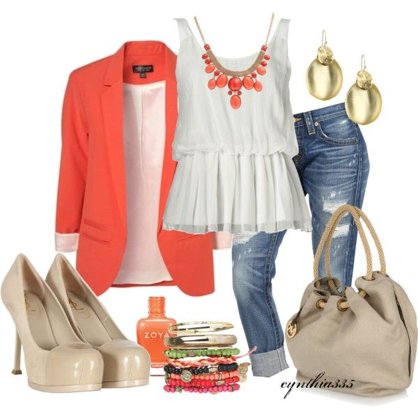 Tangerine, created by cynthia335 on Polyvore