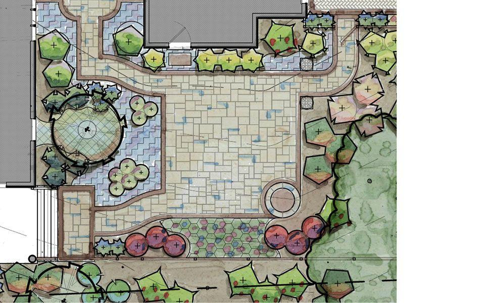 Courtyard Garden Plan Garden Planning Southern Living Plants Courtyard Garden