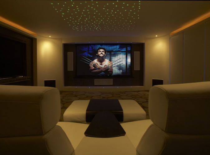 New Movie Room Lighting Ideas