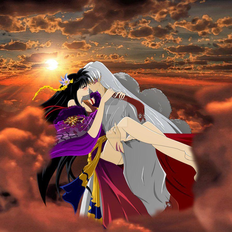 Rin And Sesshomaru, Kiss In The Sky By Inu-Sessh-Rin  I N -8555