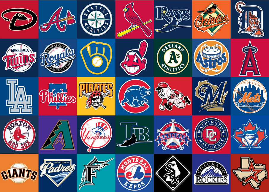 The Unique Origin Of 5 Mlb Team Names Baseball Teams Logo Mlb Teams Mlb Logos