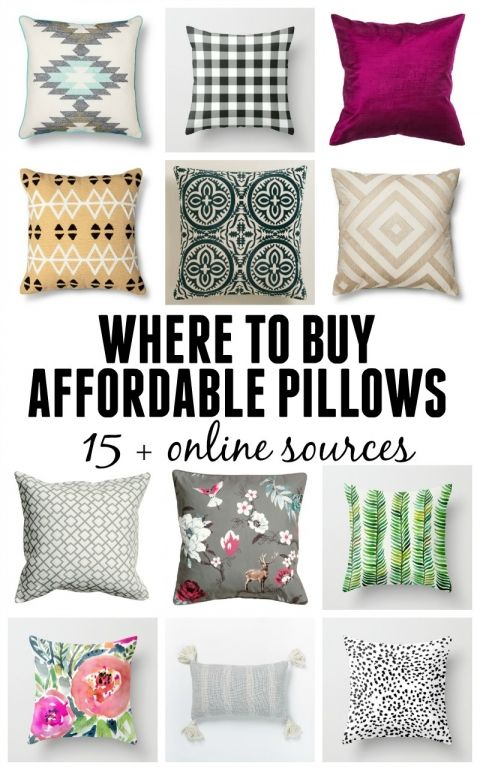 Where To Buy Cheap Throw Pillows For The Home Affordable Pillow