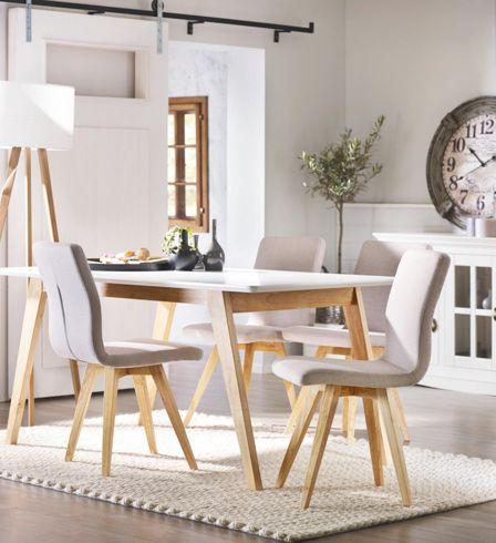 esstisch im schwedischen stil für mehr gemütlichkeit zuhause, Esszimmer dekoo