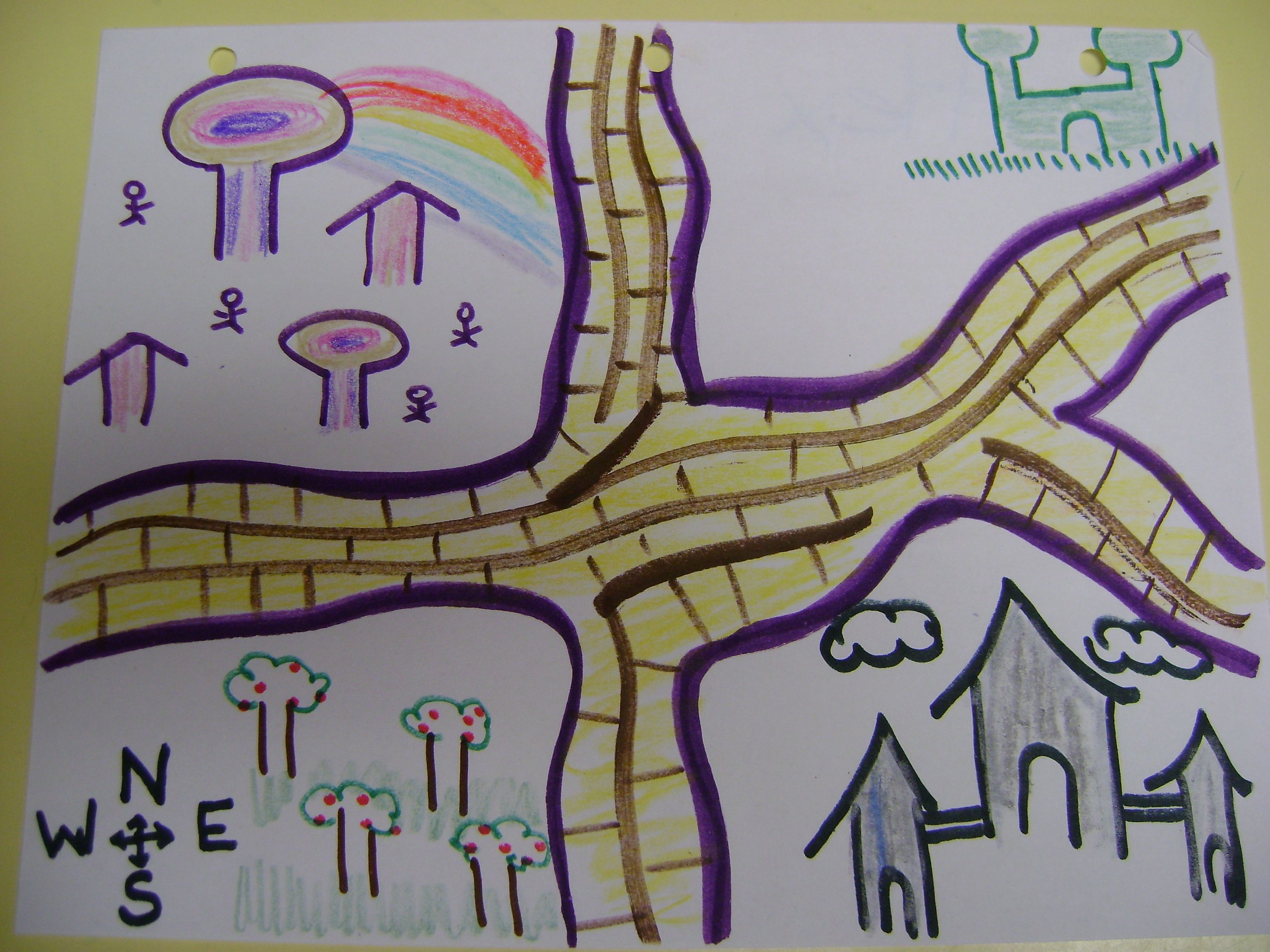 Wizard Of Oz Learn Cardinal Directions And Colors Follow