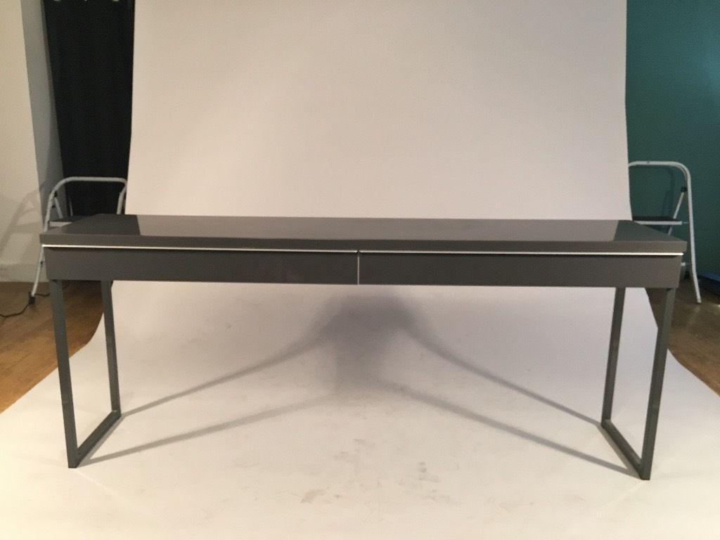 Long Thin Computer Desk