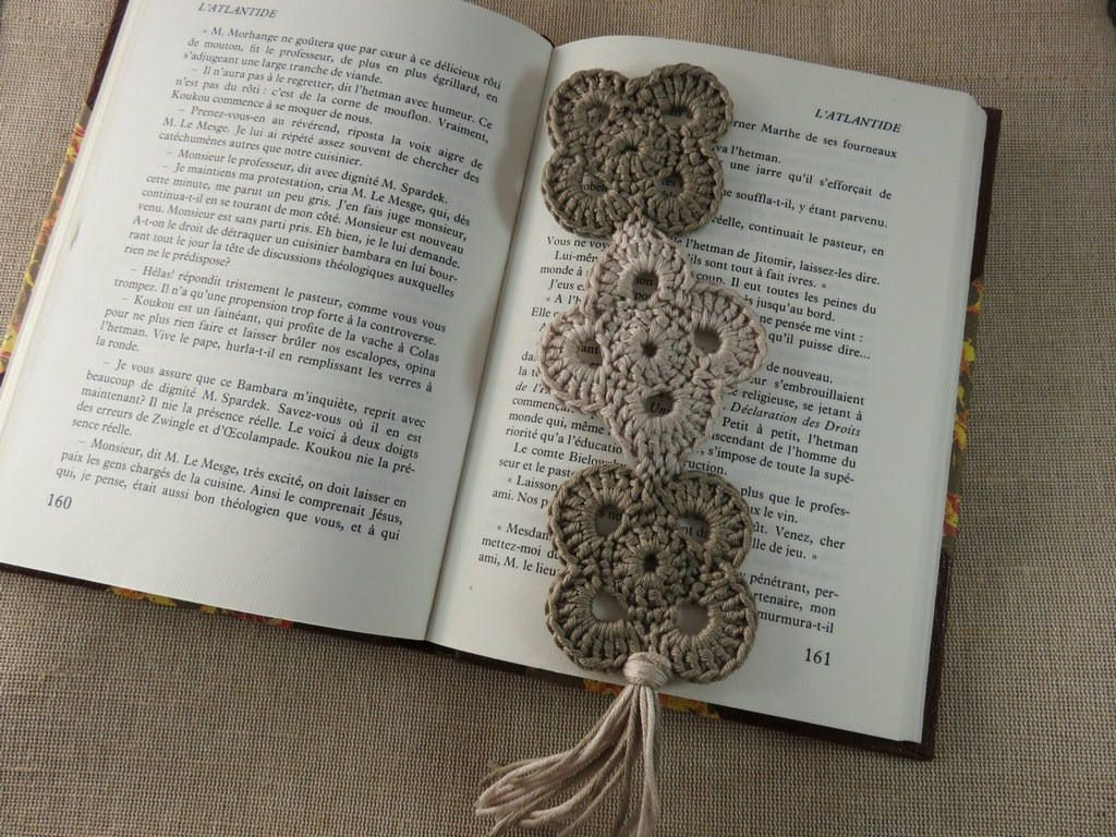 Rideaux Hiboux Brand Pages Book Handmade Jewelry Textile Bookmark With