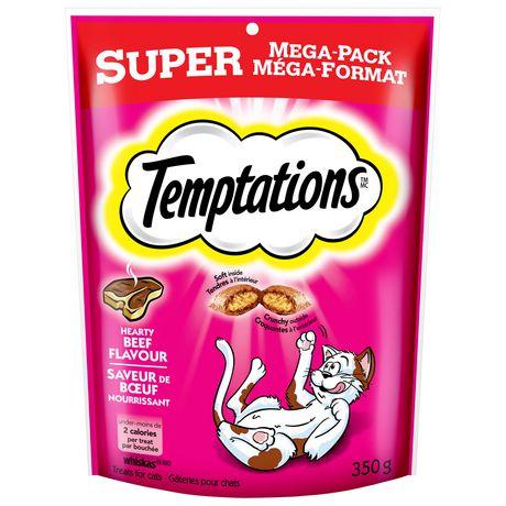 Temptations Supermega Beef Cat Treats Chicken Flavors Classic Treats Flavors