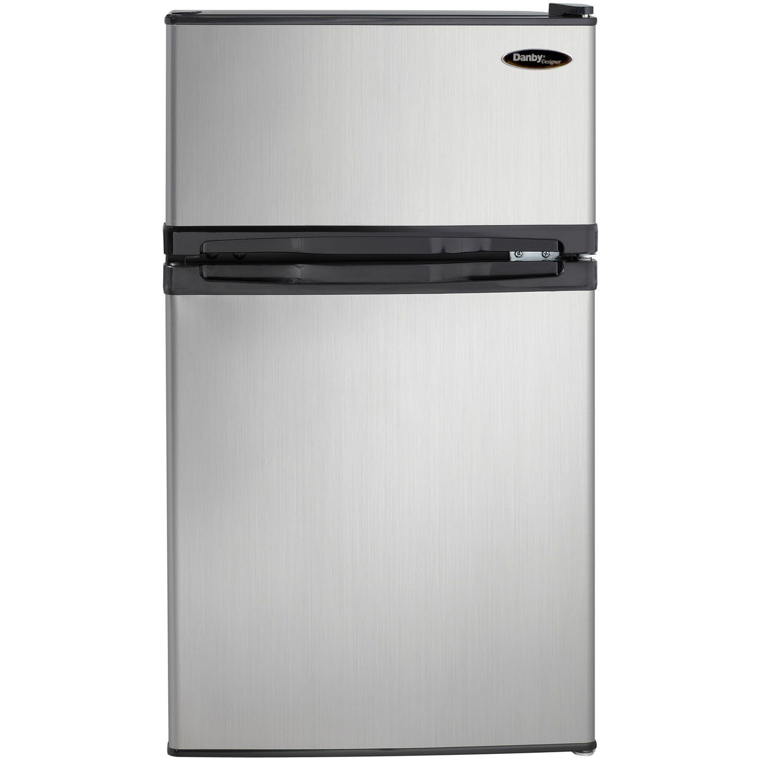 Danby Dcr031b1bsldd 3 1 Cu Ft 2 Door Compact Refrigerator Steel This Is An Amazon Affiliate Compact Fridge Compact Refrigerator Mini Fridge With Freezer