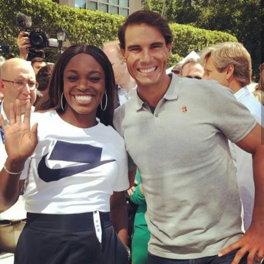 Sloane Stephens 'Rafael Nadal is going to win US Open