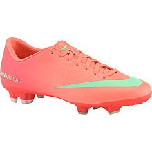 buy online d4ebd f8eac NIKE Womens Mercurial Victory IV FG Low Soccer Cleats