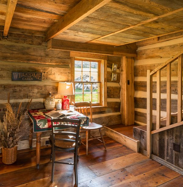 19 Log Cabin Home Décor Ideas: A Small Good Thing - LogHome.com