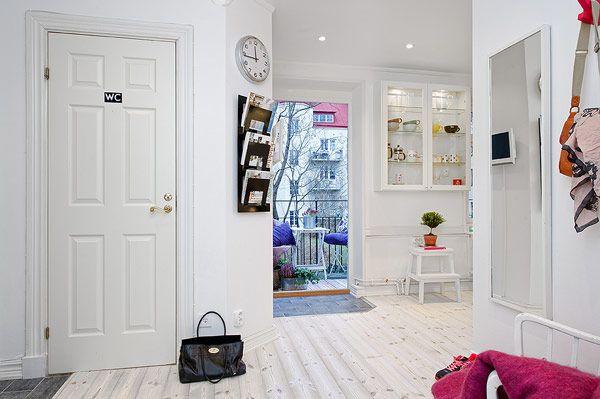 Gemütliche Wohnung-Skandinavischer Stil Flur | Schwedenhaus