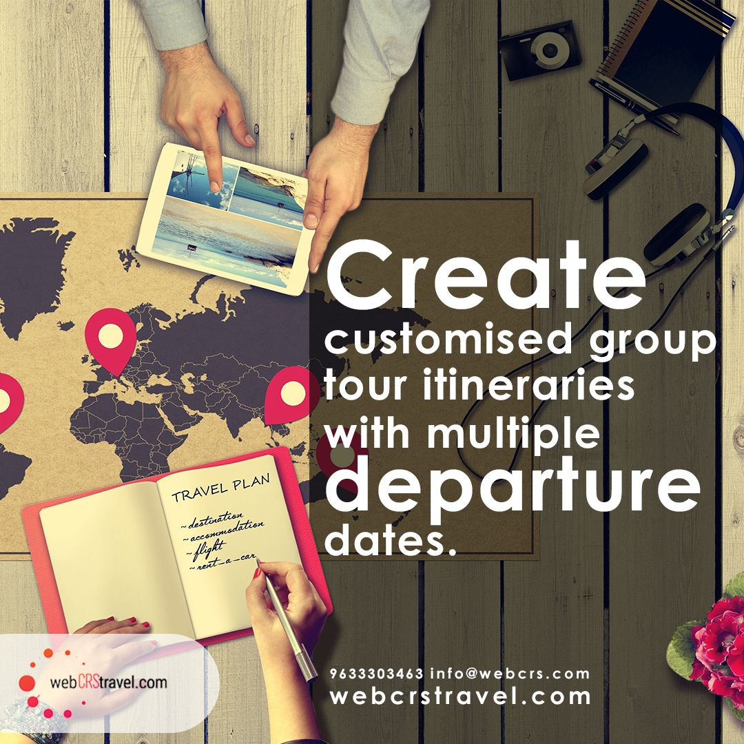 Webcrstravel is an ERP software provider for tour agency