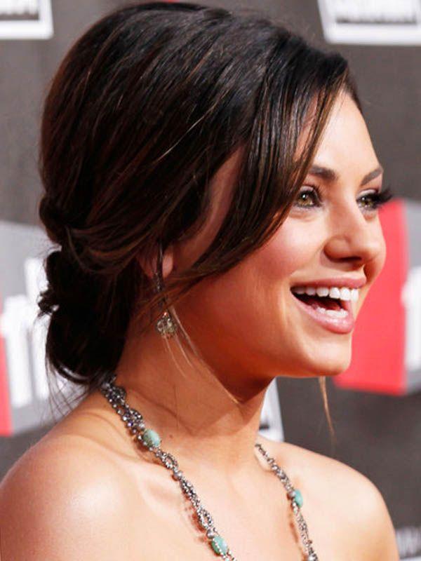 Sweet Mila Kunis Chignon Hair Styles for 2011