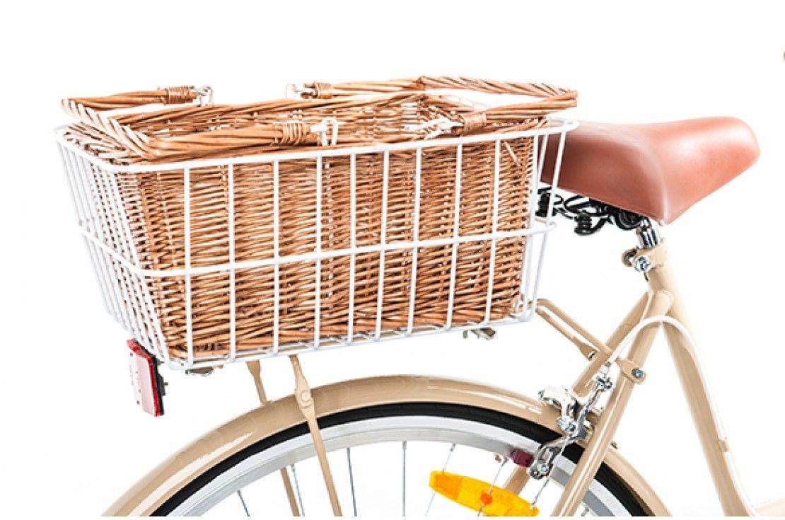 Vintage Rear Basket Rear Bike Basket Bike Basket Vintage Bike