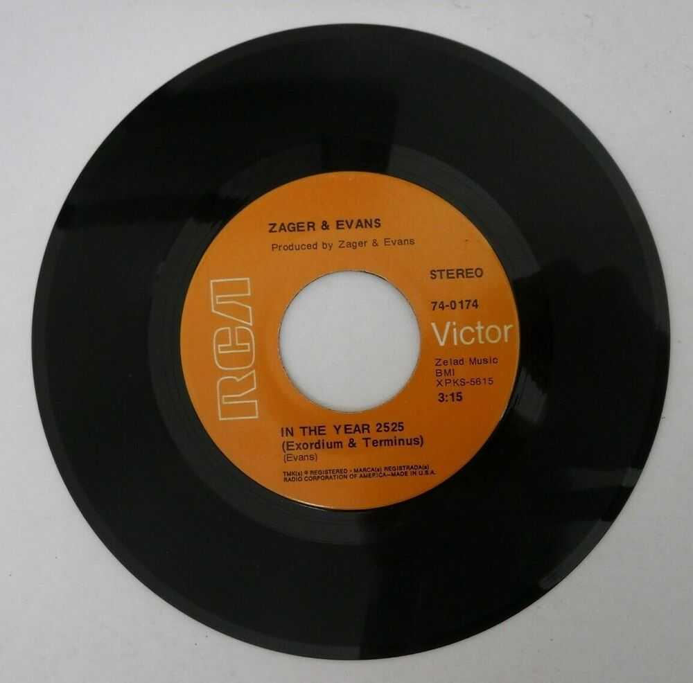 Zager & Evans - In The Year 2525 / Little Kids / 74-0174 / 45