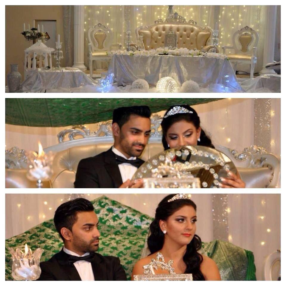 White Wedding Dress With Henna: Afghan Wedding, Afghan