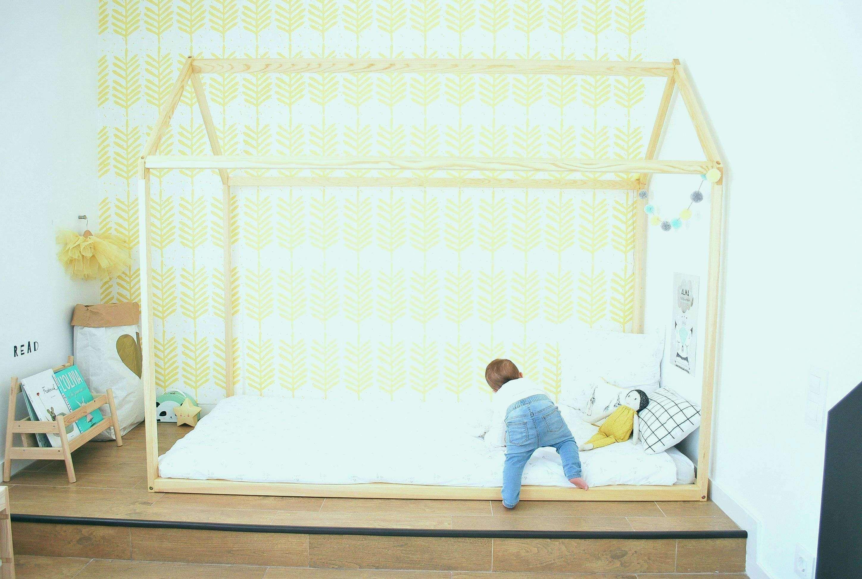 Truhe Fur Schlafzimmer Bett Kleinkind In 2020 Kid Beds Toddler Bed House Frame Bed