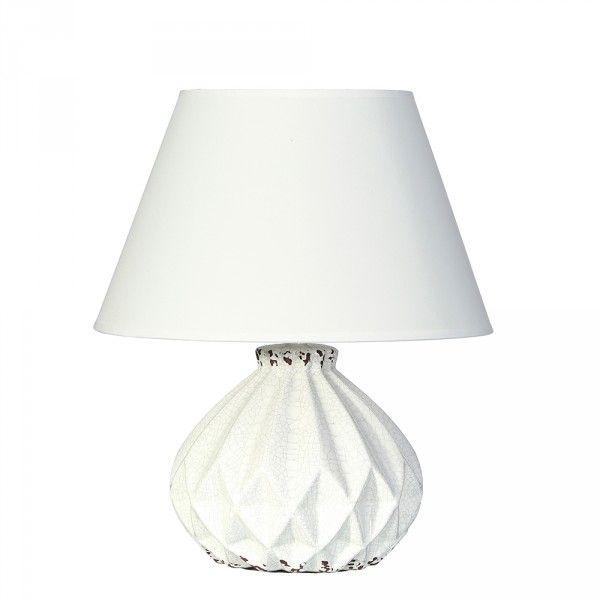 Lámpara mesita de noche blanco fantasy | Decoración | Pinterest ...