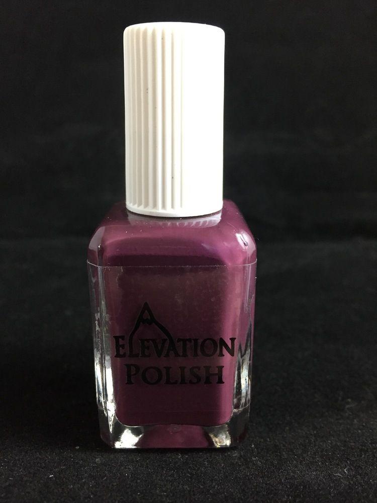 SBP: Destination, Nowhere  Description: Marsala creme with a bright purple flash of shimmer.