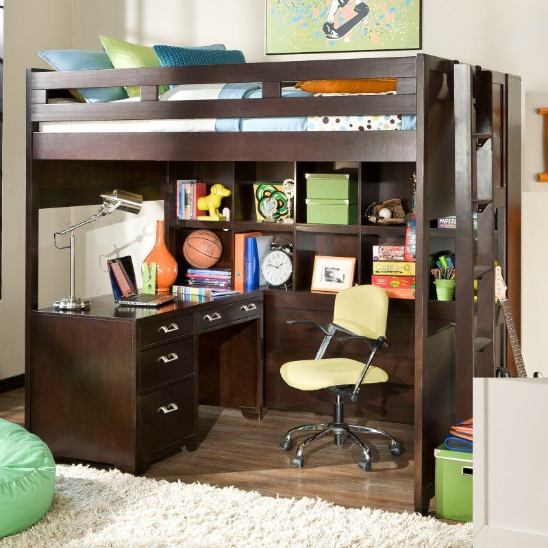 Smart Solutions Study Loft Bed Bunk Beds At Hayneedle