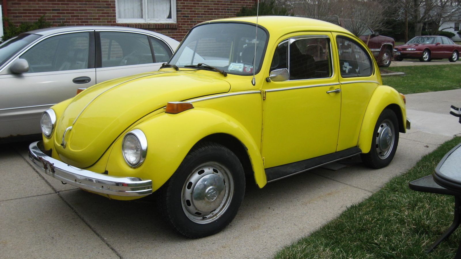 I Used To Have A 72 Super Beetle That I Called My Yellow