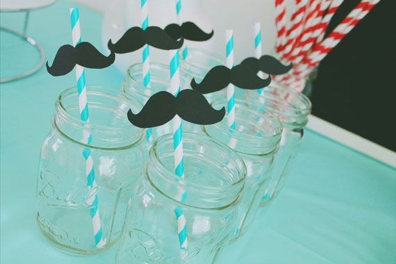 Mustache Baby Shower Party Ideas Pinterest Babies Babyshower