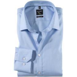 Photo of Olymp No. Camisa seis, super slim, Urban Kent, Azul, 43 Olymp