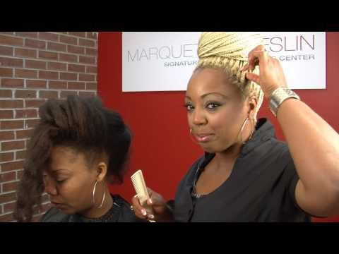 How To Braid Micro Braids Step By Step On Your Own Hair Tutorial