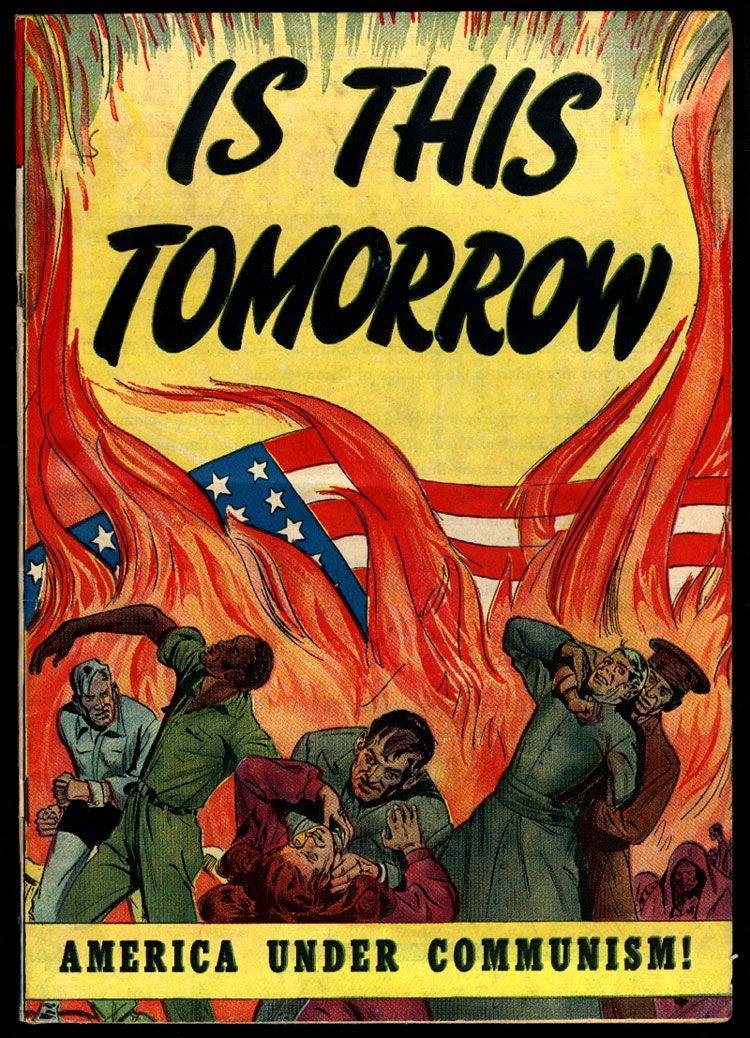 Americans Under Siege Has Tomorrow Become A Reality Backdoor Survival Cold War Propaganda American Propaganda Cold War
