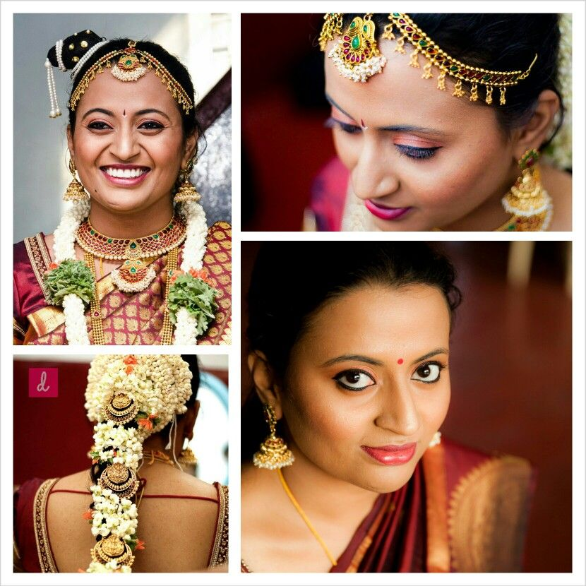 Wedding Kondai Hairstyle: Iyengar Bride,tamil Weddings, Authentic Kondai,contouring