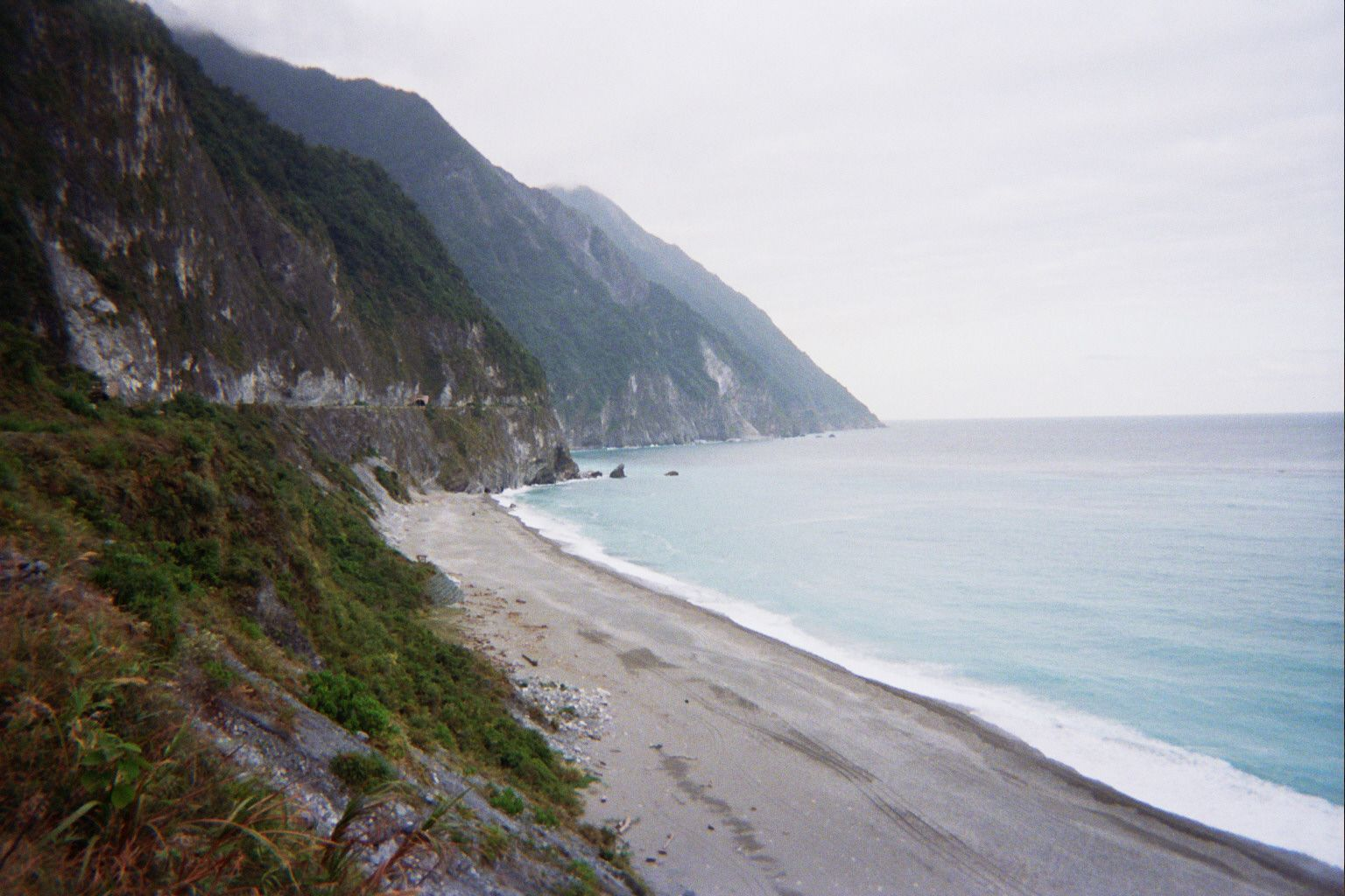 This is a shot near Hualian, Taiwan. There are a lot of