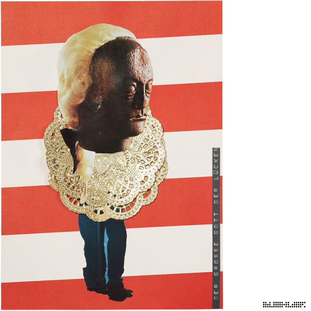 The Journey (Psychogram in 360 Collages) -- Part 1: The half Journey -- *Der große Gott der Lücken* Collage 116 from 360 // www.marcelbuehler.com/