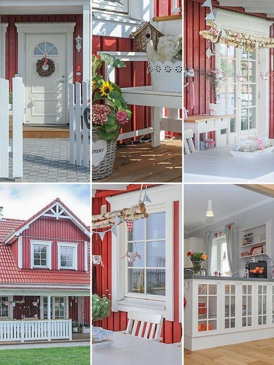 schwedenhaus kleine lotta wohnen in 2018 pinterest schwedenhaus traumh user und schweden. Black Bedroom Furniture Sets. Home Design Ideas
