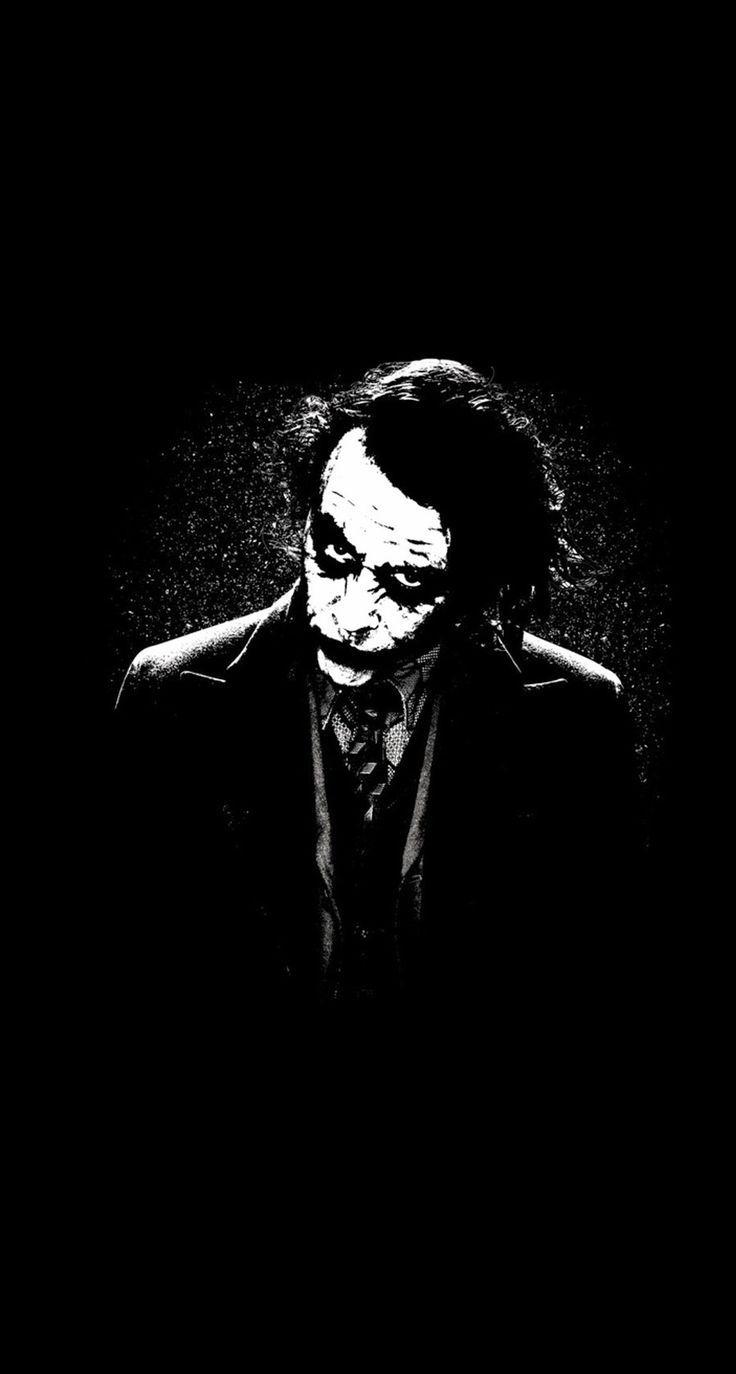 Joker Logo Wallpaper For Iphone