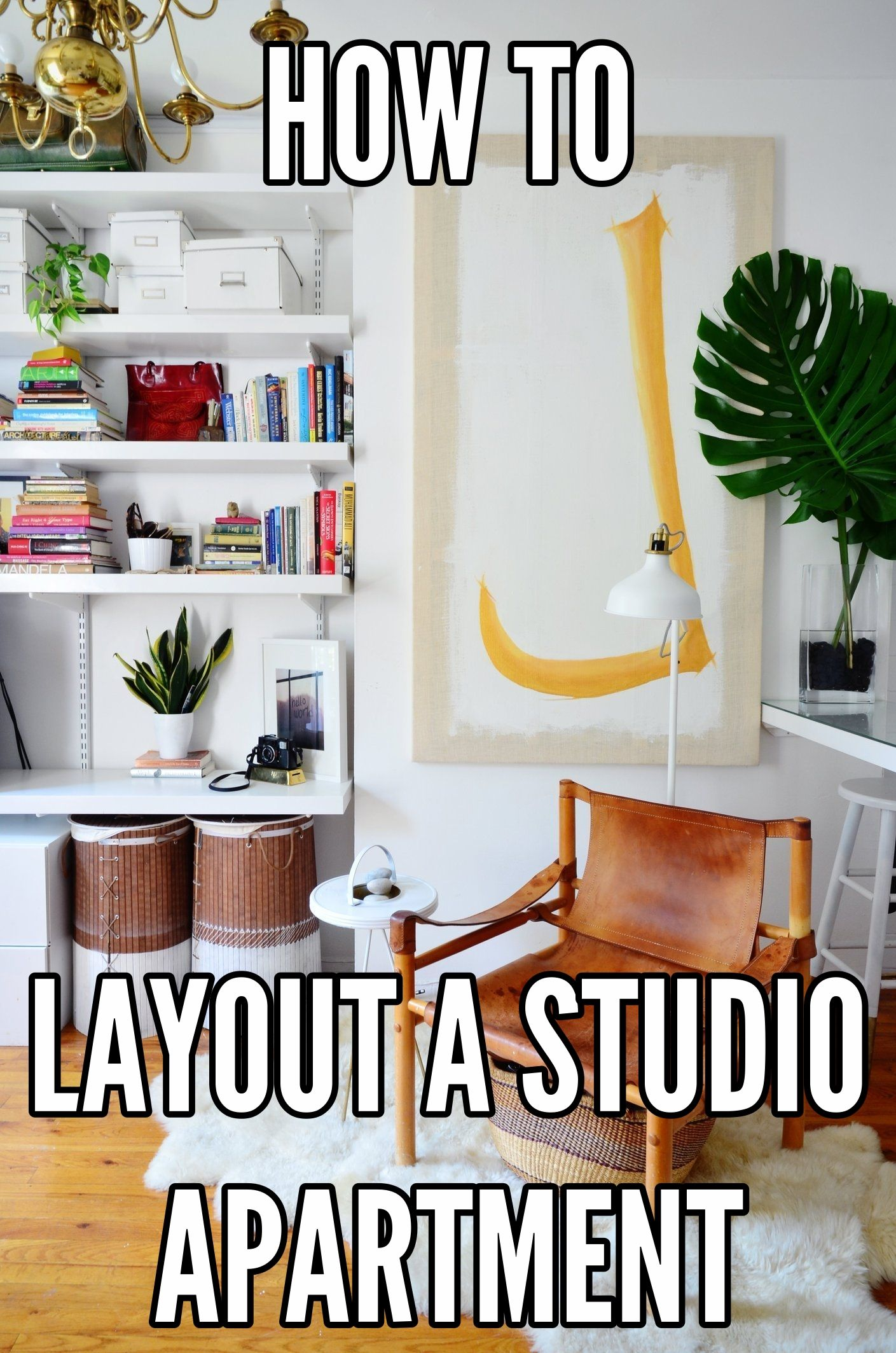 How To Arrange Your Furniture in a Studio Apartment | Pinterest ...