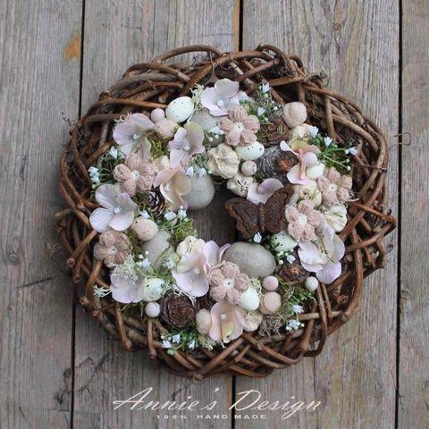 Flower Nest – Spring Door (Anniesdesign) – Meska.hu