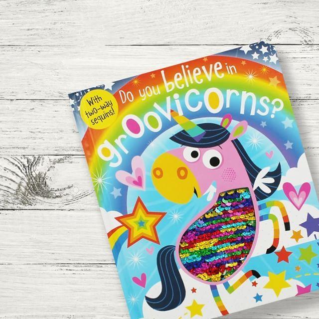 Do you believe in Groovicorns? #unicorn #groovicorn #groovicorns #unicorns #reading #books #childrensbooks  #Regram via @theworksstores