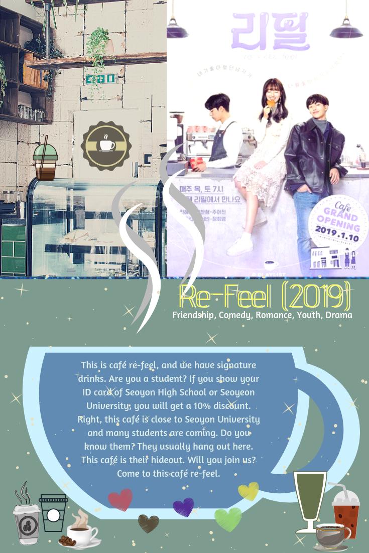 Re Feel 2019 Korean Drama Tv Korean Drama Romance Korean Drama List