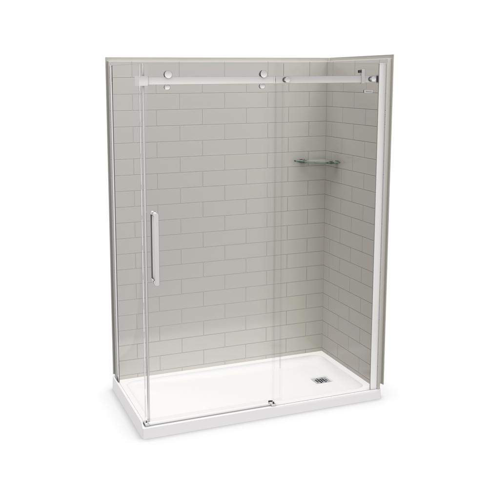 Bootz Industries Showercast 60 In X 32 In Single Threshold
